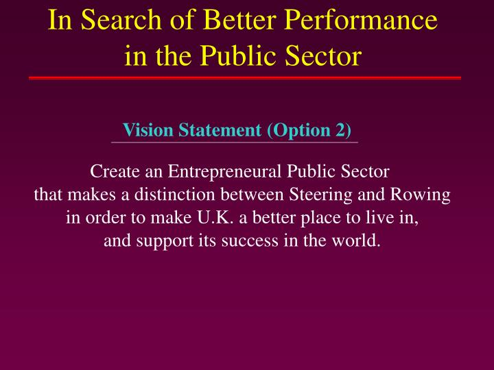Vision Statement (Option 2)