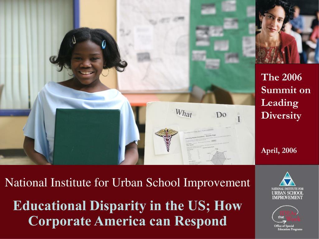 national institute for urban school improvement l.