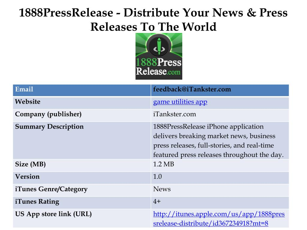1888pressrelease distribute your news press releases to the world