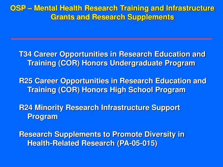 Cdc grants for public health research dissertation r36