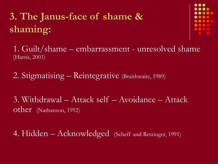 3. The Janus-face of s