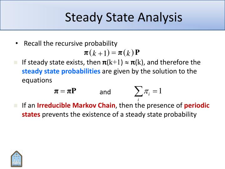 Steady State Analysis