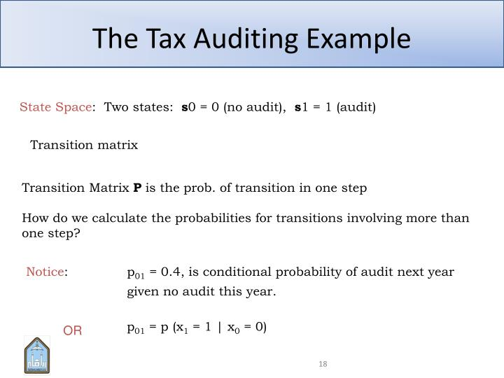 The Tax Auditing Example