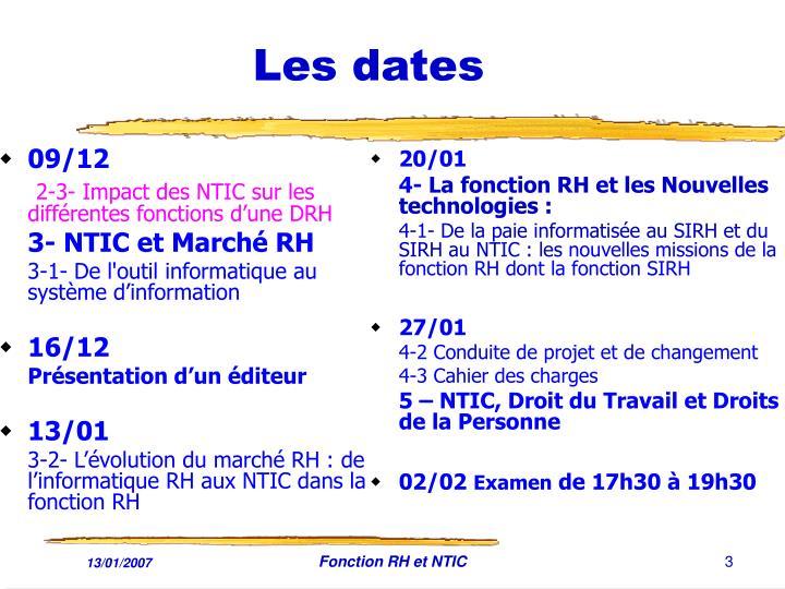 Les dates1