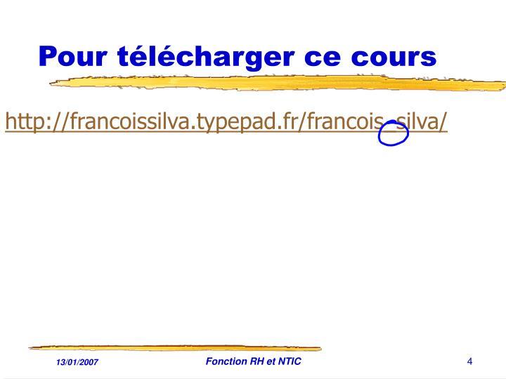 http://francoissilva.typepad.fr/francois_silva/