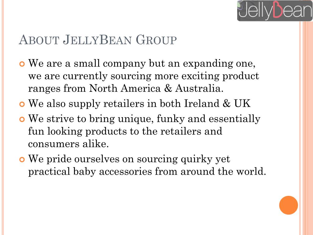 About JellyBean Group