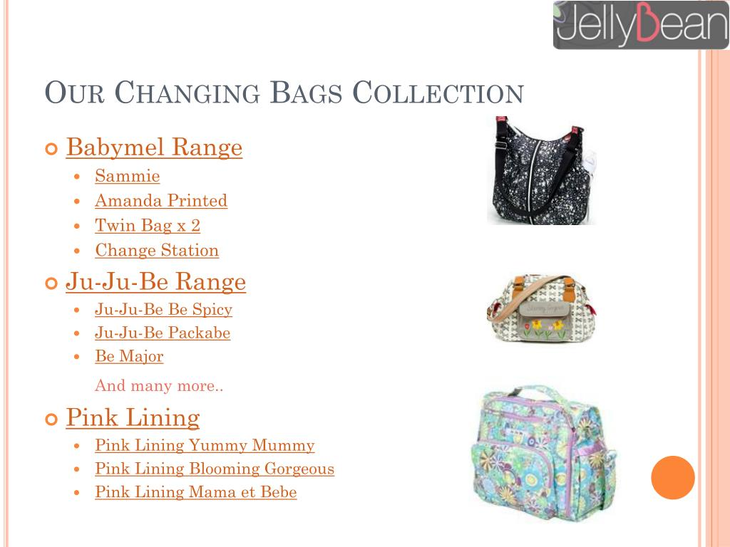 Our Changing Bags Collection