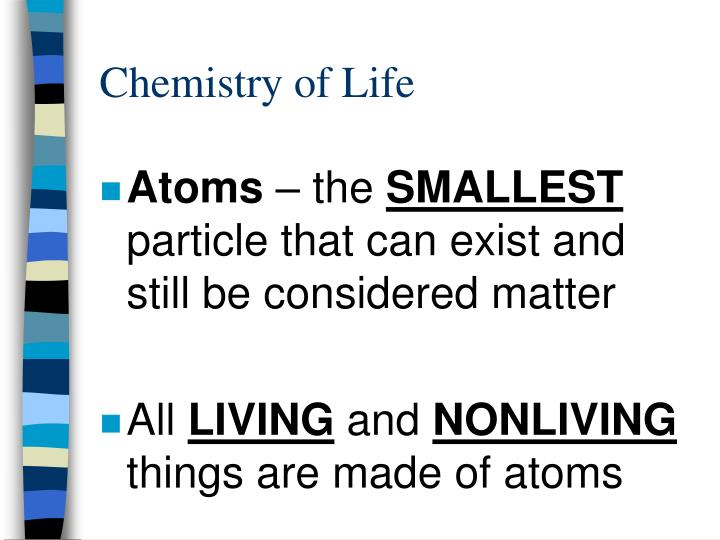 Chemistry of life2