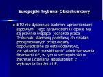 europejski trybuna obrachunkowy1