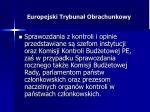 europejski trybuna obrachunkowy13