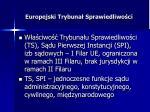 europejski trybuna sprawiedliwo ci5
