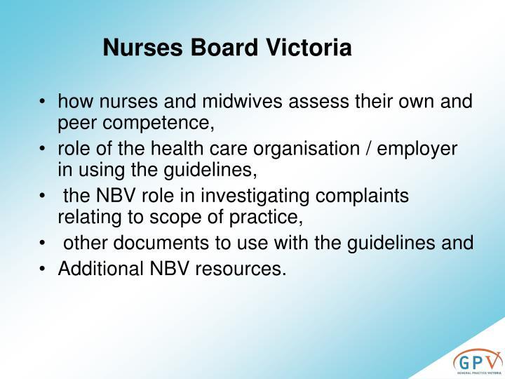 Nurses Board Victoria