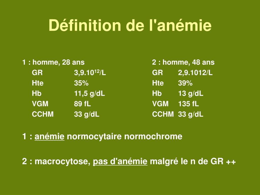 anemie 5g dl ce este condilomul și tratamentul
