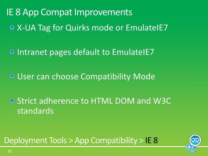 IE 8 App