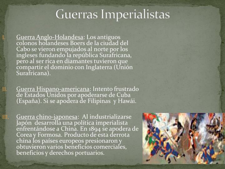 Guerras Imperialistas