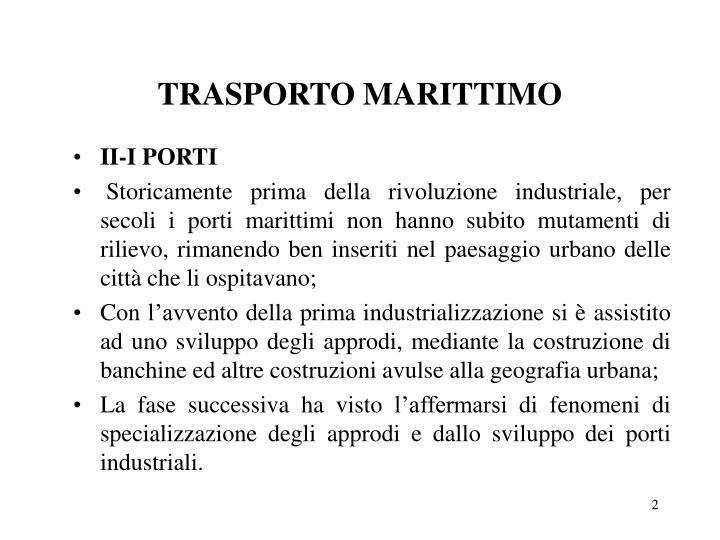Trasporto marittimo1