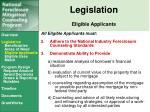 legislation eligible applicants4