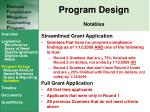 program design notables1