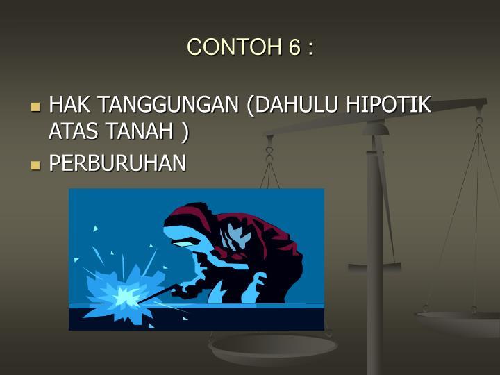 CONTOH 6 :