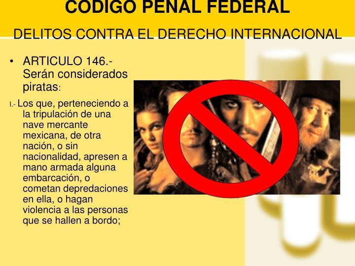 CODIGO PENAL FEDERAL