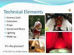 technical elements