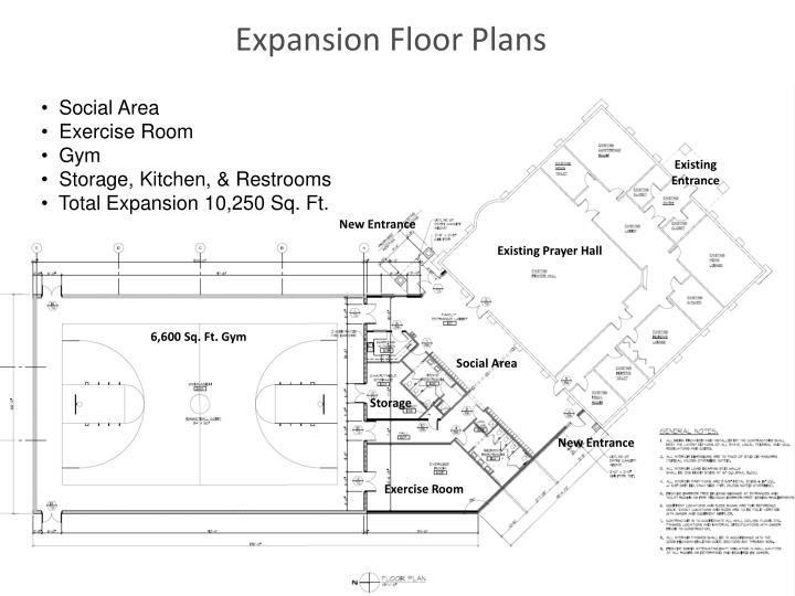 Expansion Floor Plans