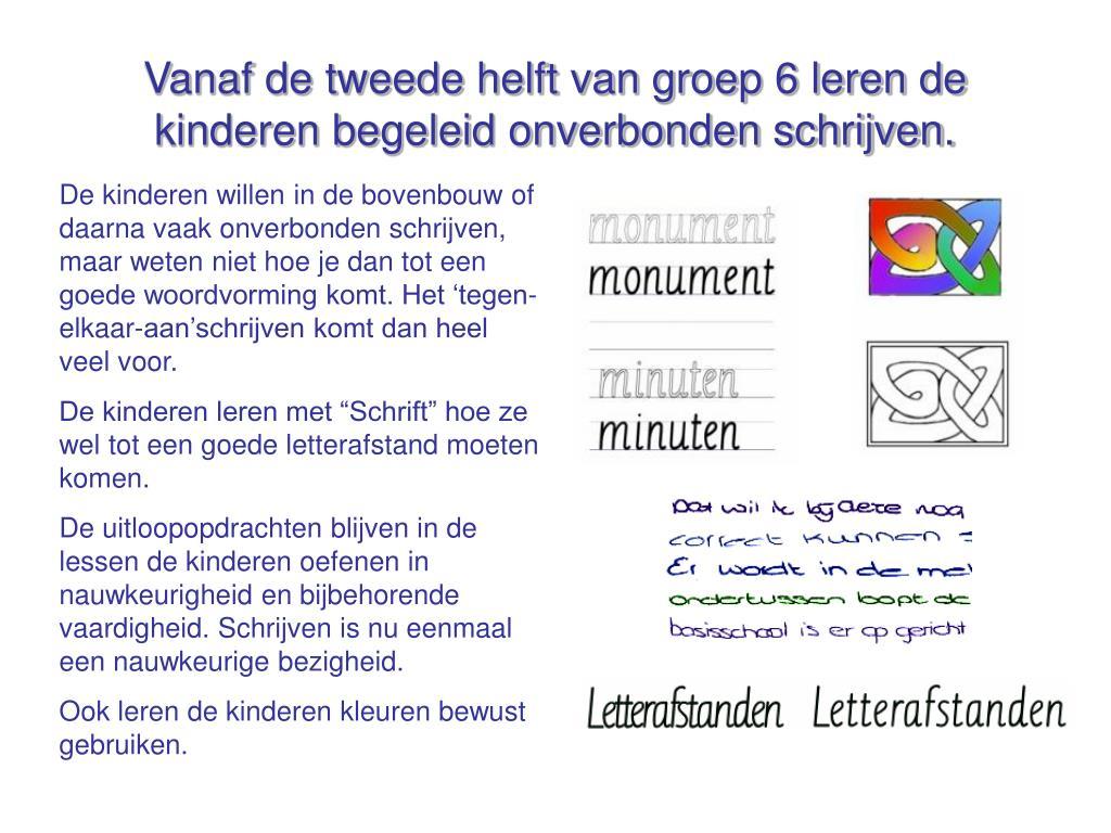 """Wonderbaarlijk PPT - Schrijven met """"Schrift"""" in de bovenbouw PowerPoint ZA-34"""