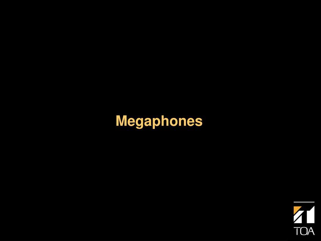 megaphones l.