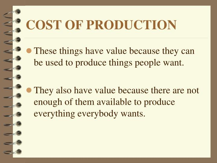 Cost of production2