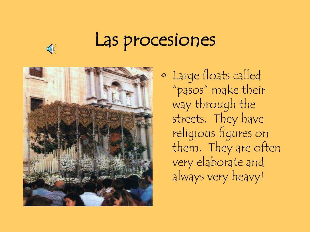 Las procesiones