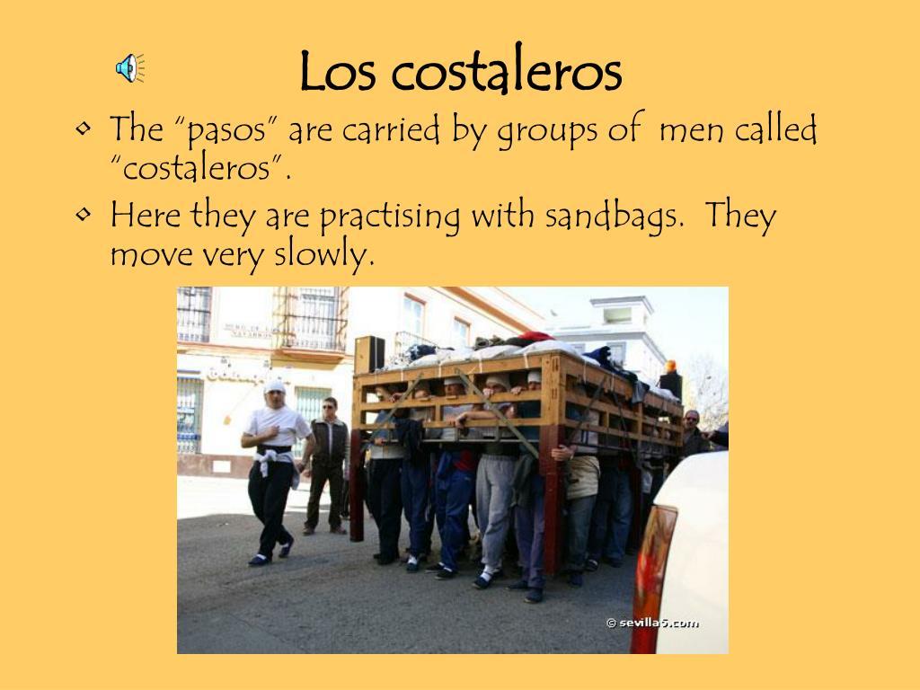 Los costaleros