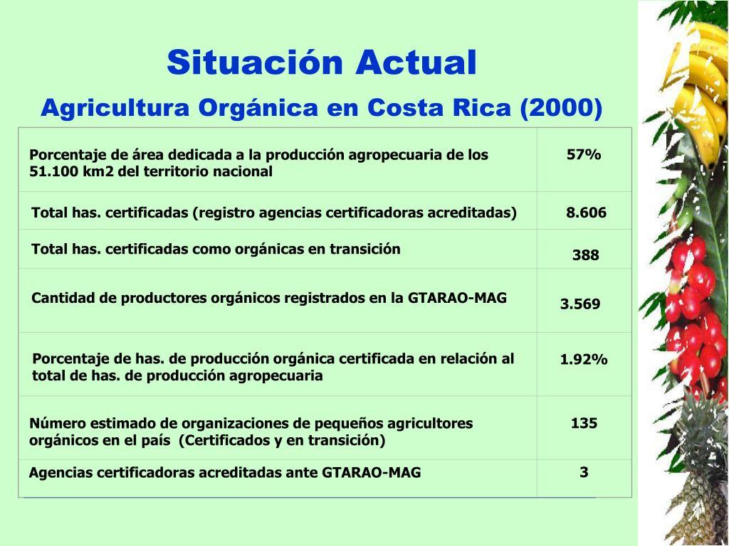 Ppt Programa Nacional De Agricultura Orgánica Costa Rica Powerpoint Presentation Id 917529