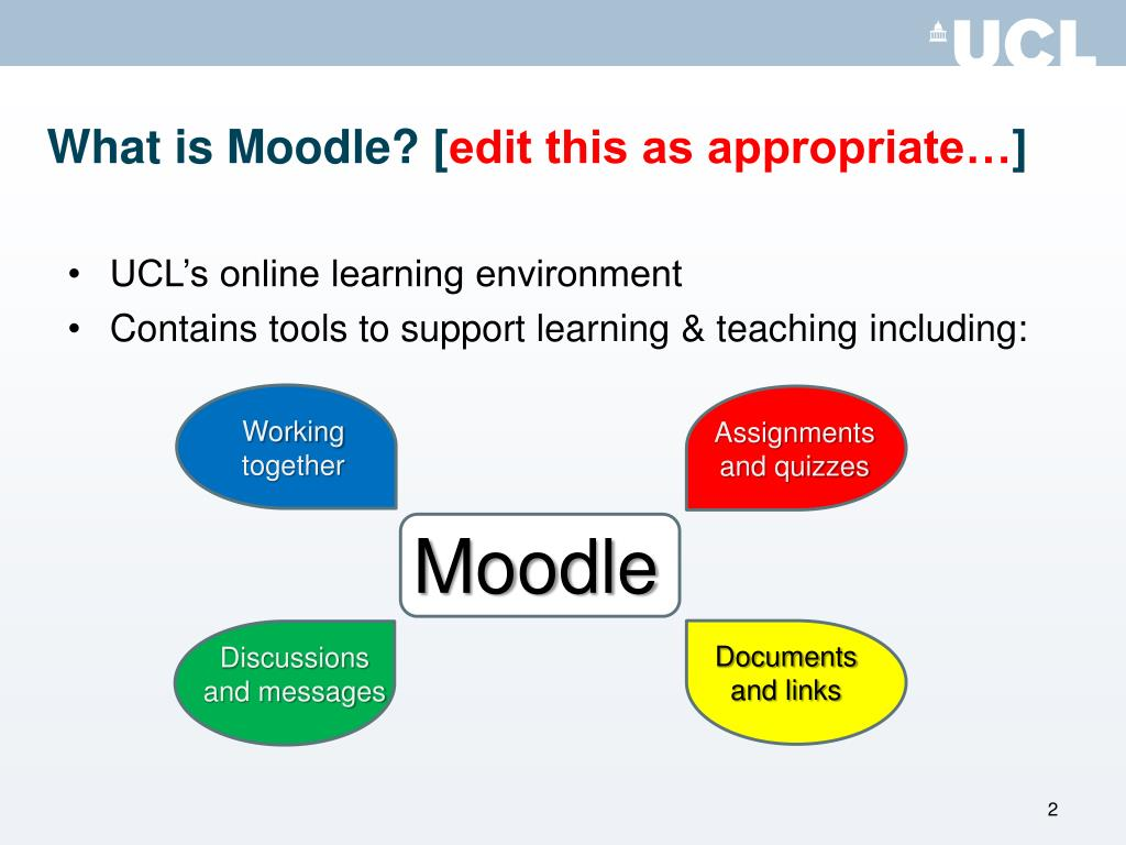 What is Moodle? [