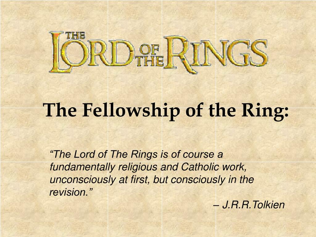 The Fellowship of the Ring: