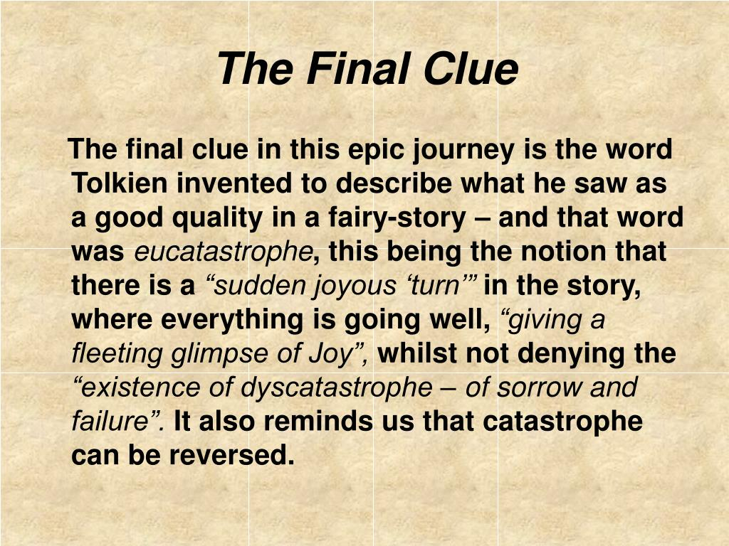 The Final Clue