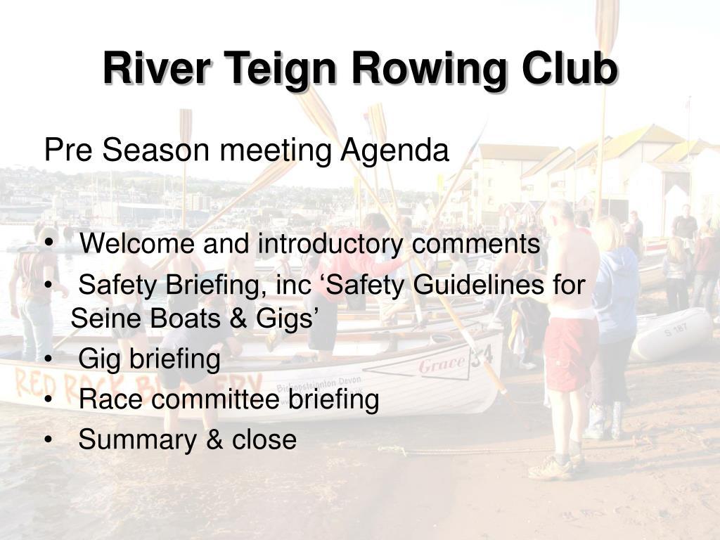 river teign rowing club l.