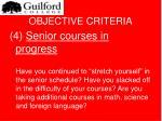 objective criteria13