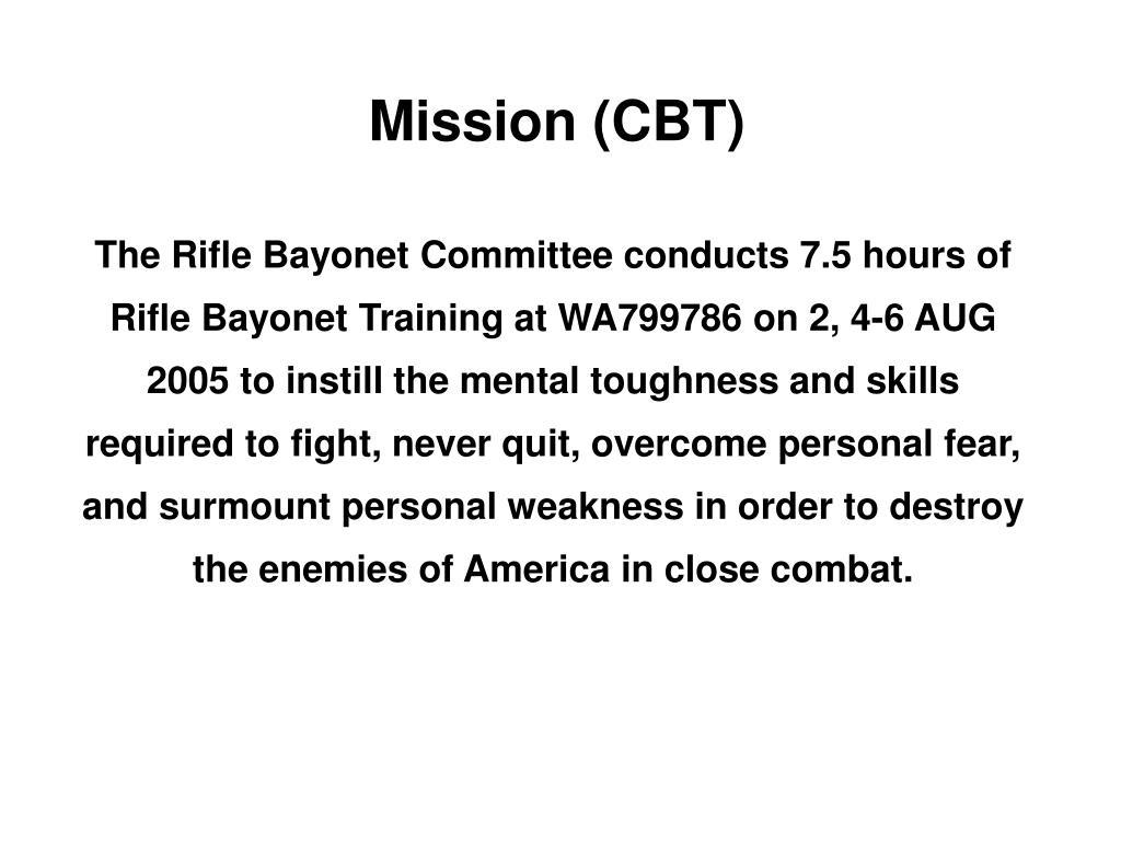 Mission (CBT)