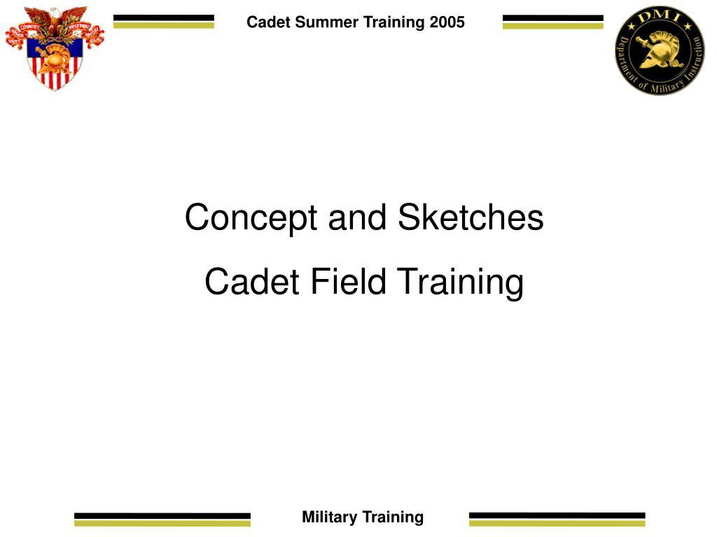 Cadet Summer Training 2005
