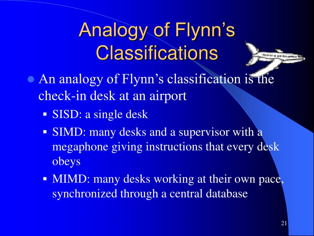 Analogy of Flynn's Classifications