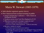maria w stewart 1803 1879