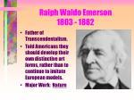 ralph waldo emerson 1803 1882