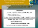 cuentas de salud cuentas nacionales de salud experiencias internacionales10
