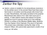 zanbur the spy