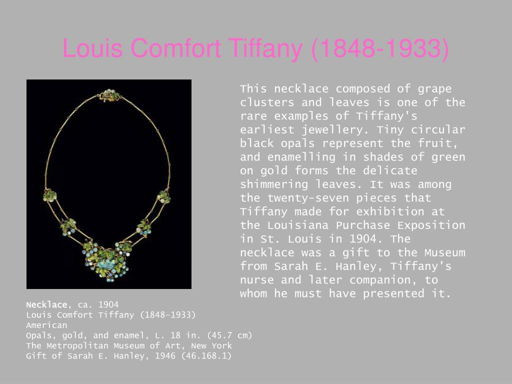 Louis Comfort Tiffany (1848-1933)
