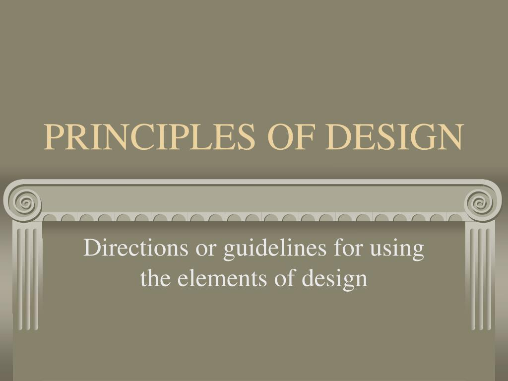 principles of design l.