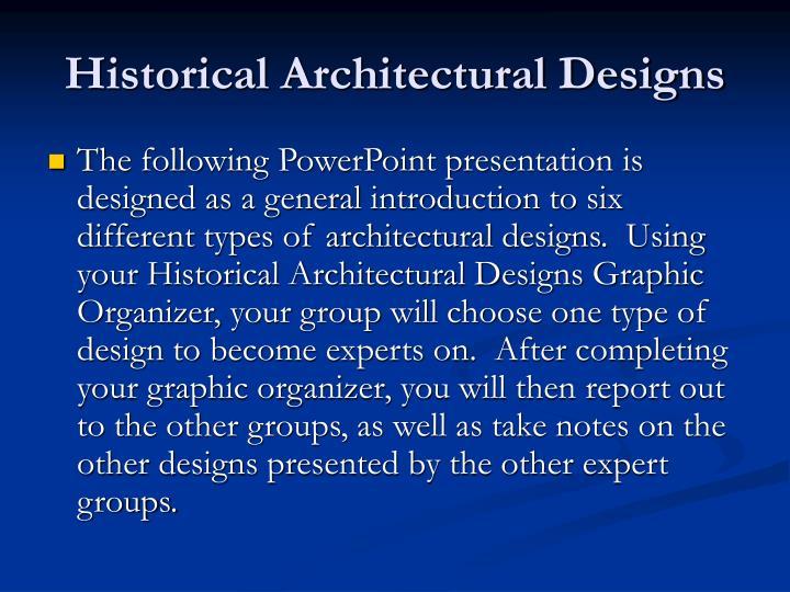 Historical architectural designs2