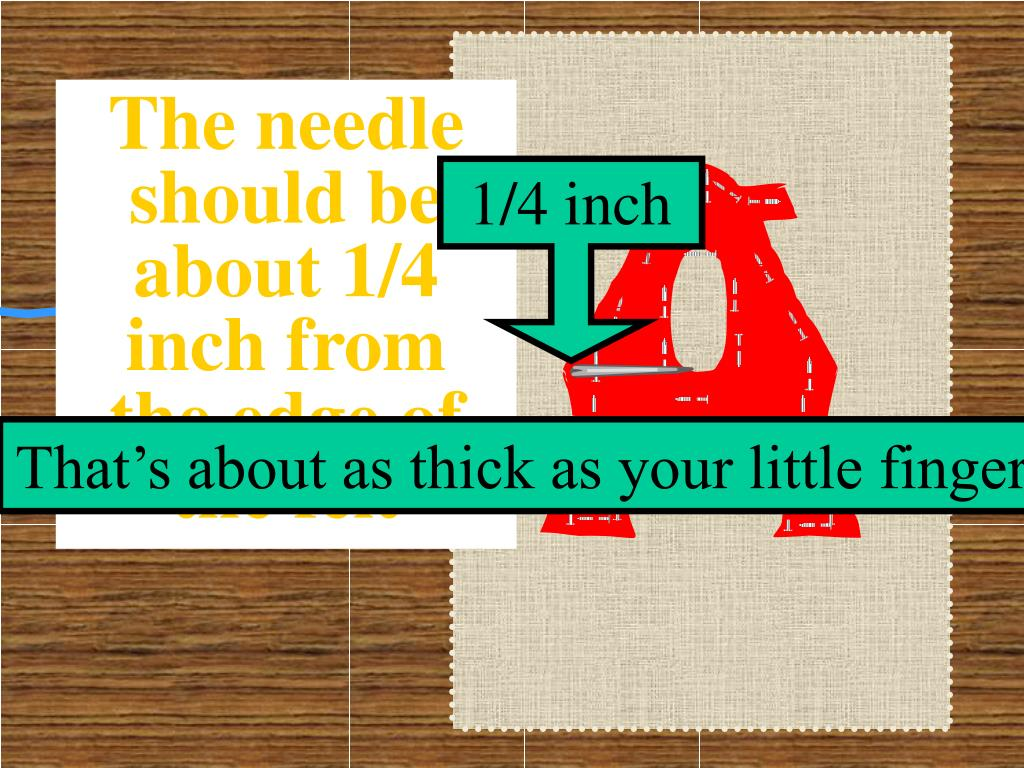 1/4 inch