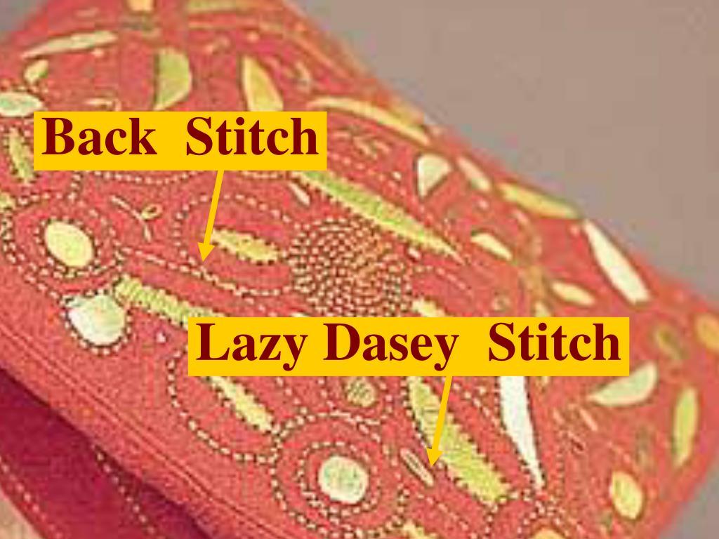 Lazy Dasey  Stitch