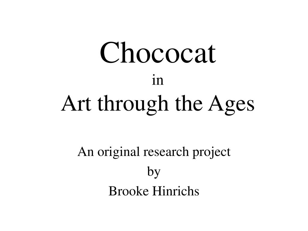 chococat in art through the ages